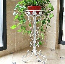 Bügeleisen Blume Regal europäischen Wohnzimmer Balkon falten Blume Racks, kleine weiße