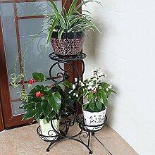 Bügeleisen im europäischen Stil mehrstöckigen multifunktionalen Wohnzimmer Balkon Boden Blume Regal Boden hängende Orchidee Töpfe