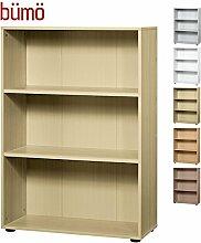 BÜMÖ® Aktenregal aus Holz | Büroregal für