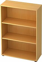 bümö® Aktenregal aus Holz   Büroregal für