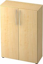 bümö® Aktenschrank aus Holz | Büroschrank für