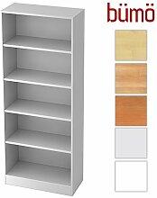 BÜMÖ® Office Aktenregal aus Holz | Büroregal
