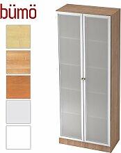 BÜMÖ® Office Aktenschrank aus Holz inkl. 4