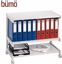 BÜMÖ® Rollwagen | Bürowagen für Ordner &