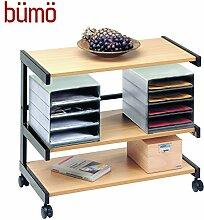 BÜMÖ® Rollwagen   Bürowagen mit Ablageboxen  