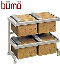 BÜMÖ® Rollwagen | Bürowagen mit Hängeregister