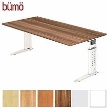 Bümö® Schreibtisch höhenverstellbar 68-86 cm |