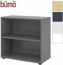 bümö® smart Aktenregal aus Holz | Büroregal