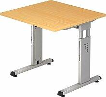 bümö® Stabiler Schreibtisch höhenverstellbar