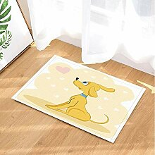 BuEnn Cartoon Tiere Bad teppiche schönen Hund