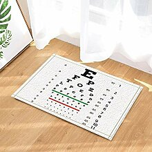 BuEnn Sehtafel Dekor Vision Test Board Optiker