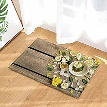 BuEnn Spa Decor Lemon Tee abnehmen Yoga Holz Bord