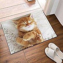 BuEnn Tierdekor. Die reizende Katze ist schlafende
