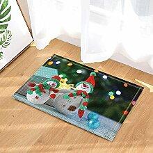 BuEnn Weihnachtsdekor Weihnachten Schneemann und