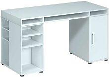 Büro Computertisch in Weiß 150 cm