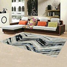 Büro den Wohnzimmer Couchtisch Teppich Teppich modernen minimalistischen Teppich ( farbe : P , größe : 80*120 )