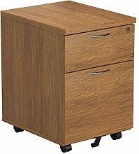 Büro Hippo 2Schubladen Mobile Ständer, Holz,