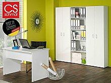 Büro-Kombi Büromöbel Schrank Regal