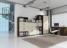 Büro Komplett - Set A Trelew, 6-teilig, Farbe: