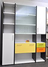 Büro Schrankwand Pendo Multi 172 x 44 x H 221 cm