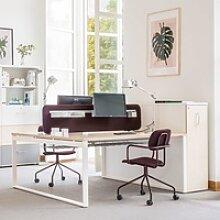 Büro Schreibtisch für zwei Personen Fro Q