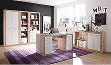 Büro-Set Büroeinrichtung Büromöbel Heimbüro