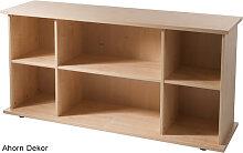 Büro Sideboard Hammerbacher Büroregal Basic 2 OH