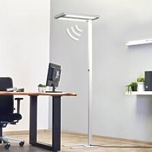 Büro-Stehleuchte Free-F LED10000 HFDd 840 SD grau