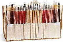 Bürobedarf Acryl Pinsel Groß 38 Stück for