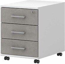 Bürocontainer mit Rollen abschließbar