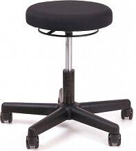 Bürohocker Chairsupply 329 Stoff schwarz