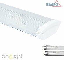 Büroleuchte XP7 von Bemko 2x36W incl. 2 x Leuchtstofflampen 6400