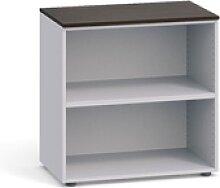 Büroregal 800 x 420 x 740 mm, buche