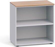 Büroregal 800 x 420 x 740 mm, kirschbaum