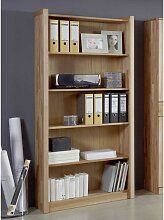 Büroregal aus Kernbuche Massivholz 200 cm hoch