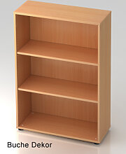 Büroregal Hammerbacher Basic 3 OH 80 x 33 x 115