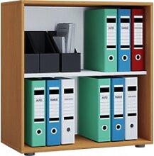 Büroregal LONA L(BHT 70x74x40 cm) VCM buche