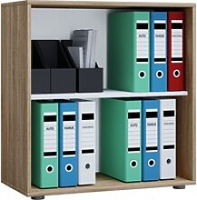 Büroregal LONA L(BHT 70x74x40 cm) VCM sonoma-eiche