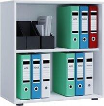 Büroregal LONA L(BHT 70x74x40 cm) VCM weiss