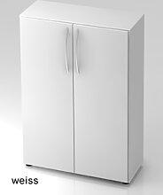Büroschrank Hammerbacher Basic 3 OH Türen 80 x