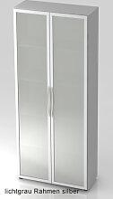 Büroschrank Hammerbacher Basic 5 OH Glastüren 80