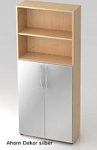 Büroschrank Hammerbacher Basic 5 OH Türen 3 OH