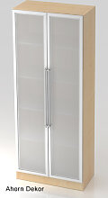 Büroschrank Hammerbacher Solid 5 OH Glastüren 5
