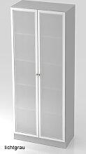 Büroschrank Hammerbacher Solid S 5OH Glastüren