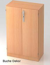 Büroschrank Hammerbacher Solid SS 3 OH Türen 80