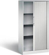 Büroschrank Rollladenschrank 4OH abschließbar
