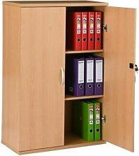 Büroschrank XXL | 2 Fachböden | BxTxH 940 x 530