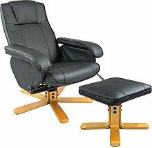Bürosessel aus Kunstleder mit Massagefunktion und