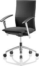 Bürostuhl BLA Teiger UP 6 UP Leder schwarz schnell