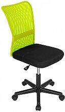 Bürostuhl Drehstuhl Schreibtischstuhl Büro Dreh Stuhl Grün-Schwarz